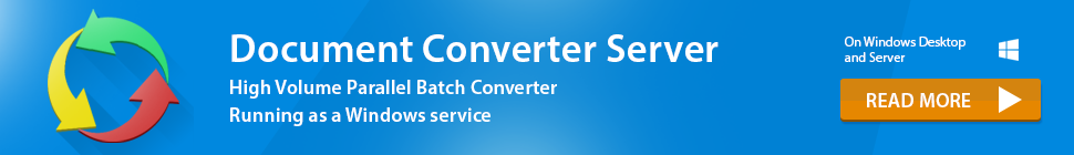 Read more about Document Converter Server!