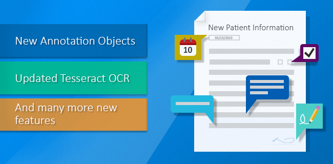 Document Imaging version 12.65 is released!
