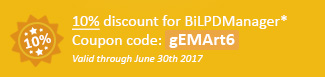 10% discount for BiLPDManager Coupon code: gEMArt6