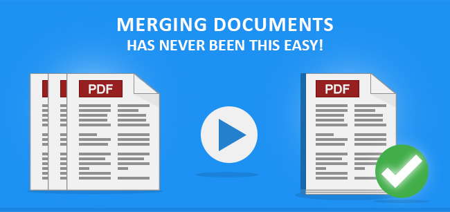 Merging documents have never been this easy!