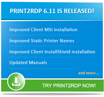 Print2RDP 6.11 is released!