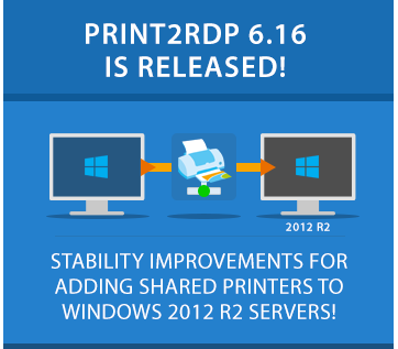 Try Print2RDP 6.16 Now!