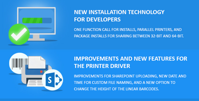 New Printer Driver Installation Technology for Developers