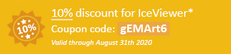 10% discount for IceViewer Coupon code: gEMArt6