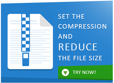 Set the default compression and reduce the file size