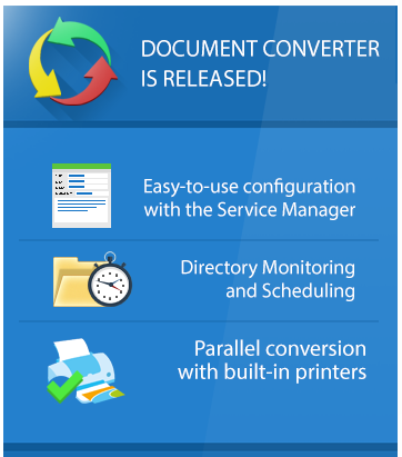 Try Document Converter Server Now!