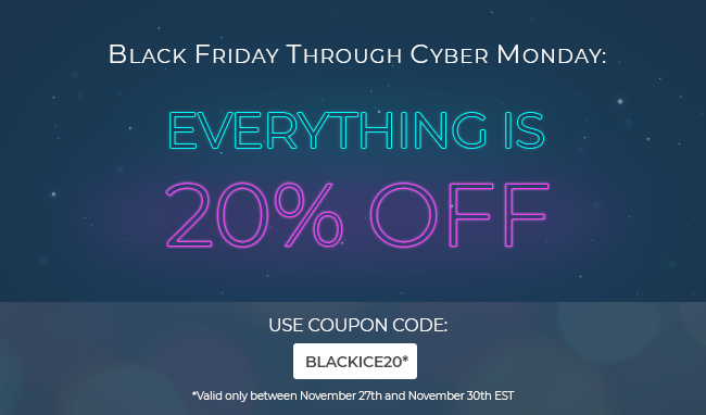 Black Friday Cyber Monday Super Sale