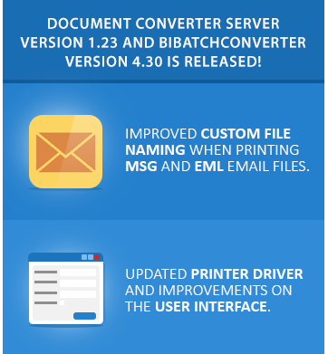 Try Document Converter and BiBatchConverter Now!