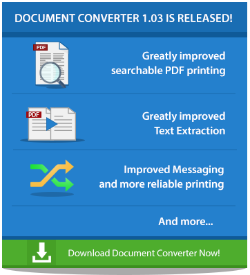 Try Document Converter 1.03 Now!
