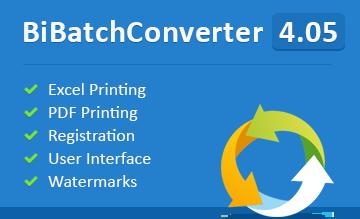 Try BiBatchConverter 4.05 Now!