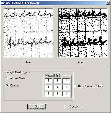 Image filter binary online