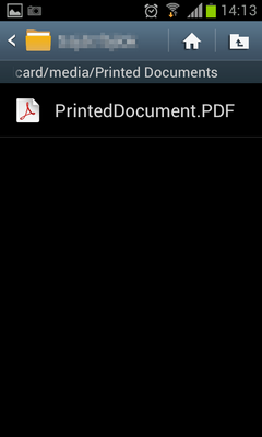 Print from Android to the Black Ice Printer Driver through Citrix