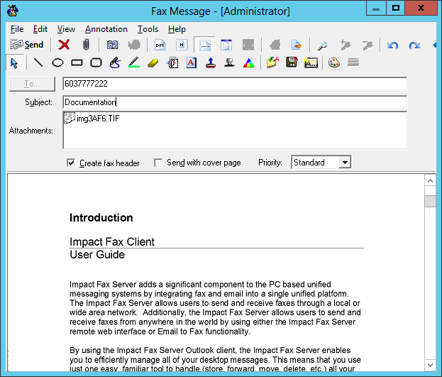 Impact Fax Server - Fax Server - Black Ice Software