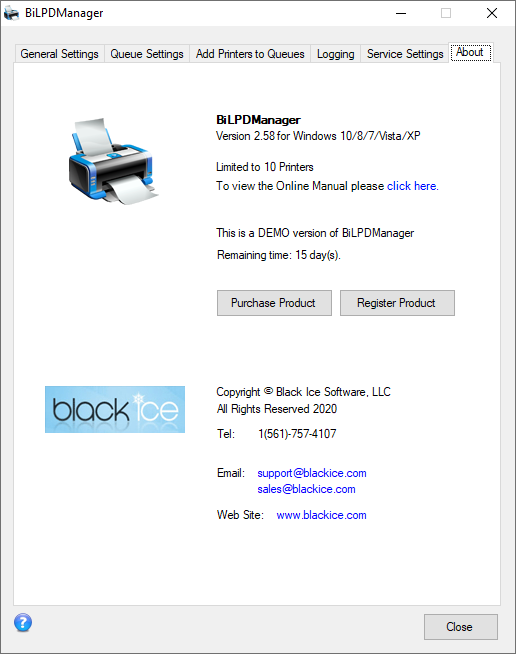 BiLPDManager - BILPDManager - Black Ice Software