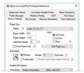 ColorPlus Printer Drivers full screenshot