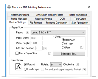 PDF Printer Driver full screenshot